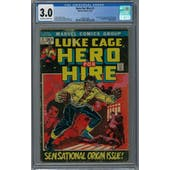 Hero For Hire #1 CGC 3.0 (OW-W) *2049741002*
