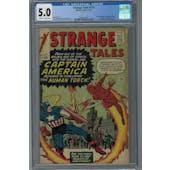 Strange Tales #114 CGC 5.0 (OW-W) *2049741004*