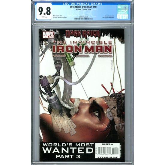 Invincible Iron Man #10 CGC 9.8 (W) *2049742009*