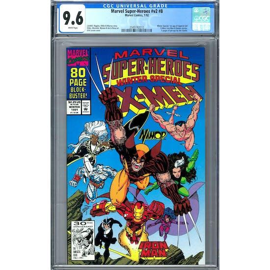 Marvel Super-Heroes #v2 #8 CGC 9.6 (W) *2049742010*