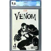 Venom #1 CGC 9.6 (W) McFarlane Sketch Cover *2049742015*