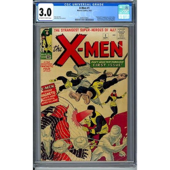 X-Men #1 CGC 3.0 (OW-W) *2049753001*