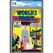 World's Finest Comics #104 CGC 7.0 (OW) *2049931001*