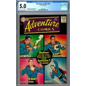 Adventure Comics #248 CGC 5.0 (LT-OW) *2049931003*