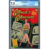 Wonder Woman #45 CGC 7.5 (OW-W) *2049931011*