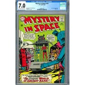 Mystery in Space #102 CGC 7.0 (C-OW) *2049931015*