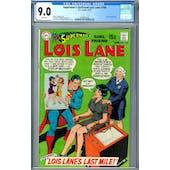 Superman's Girlfriend Lois Lane #100 CGC 9.0 (W) *2049931016*