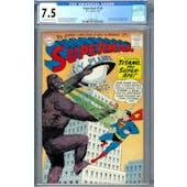 Superman #138 CGC 7.5 (OW-W) *2049931018*