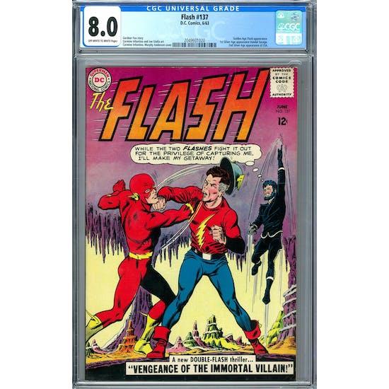 Flash #137 CGC 8.0 (OW-W) *2049931020*