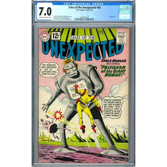 Tales of the Unexpected #68 CGC 7.0 (C-OW) *2049931023*