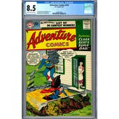 Adventure Comics #236 CGC 8.5 (C-OW) *2049932002*