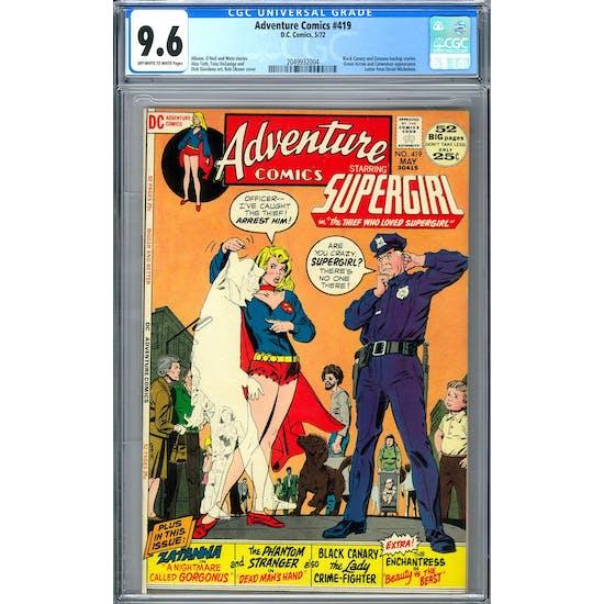 Adventure Comics #419 CGC 9.6 (OW-W) *2049932004*