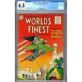 World's Finest Comics #79 CGC 6.5 (OW-W) *2049932006*