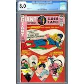 Superman's Girlfriend Lois Lane #113 CGC 8.0 (OW-W) *2049932008*