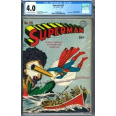 Superman #20 CGC 4.0 (OW-W) *2049932009*