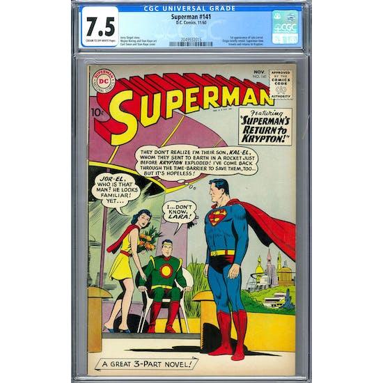 Superman #141 CGC 7.5 (C-OW) *2049932015*