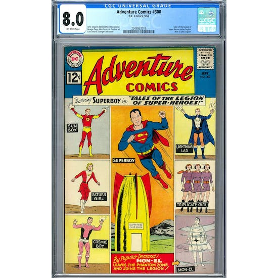 Adventure Comics #300 CGC 8.0 (OW) *2049932016*