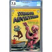 Strange Adventures #21 CGC 7.5 (OW-W) *2049932018*