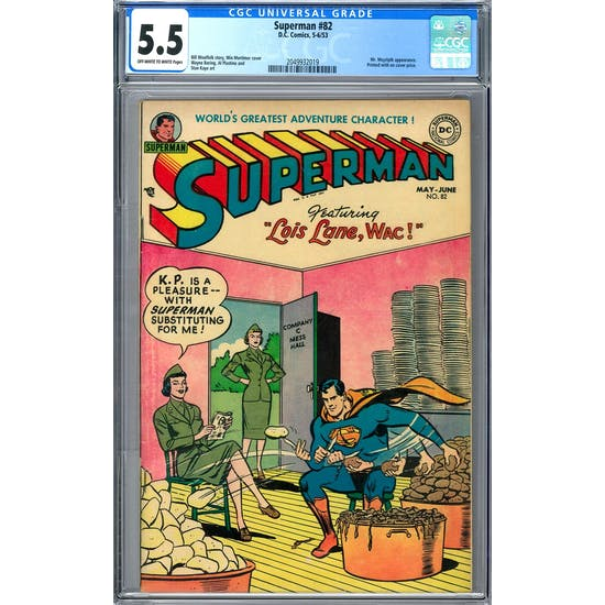 Superman #82 CGC 5.5 (OW-W) *2049932019*
