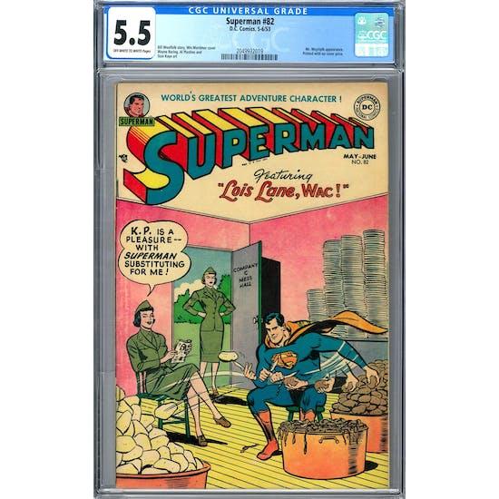 Superman #82 CGC 5.5 (OW-W) *2049932019*