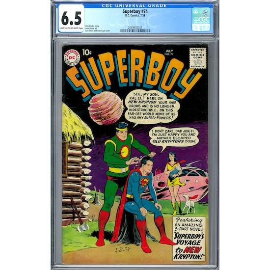 Superboy #74 CGC 6.5 (LT-OW) *2049932021*