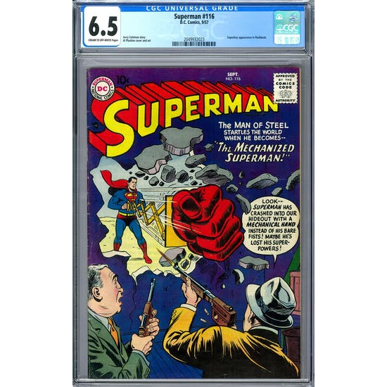 Superman #116 CGC 6.5 (C-OW) *2049932023*