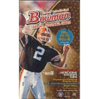 1999 Bowman Football Hobby Box