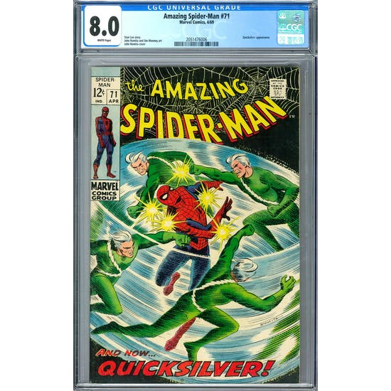 Amazing Spider-Man #71 CGC 8.0 (W) *2051476006*