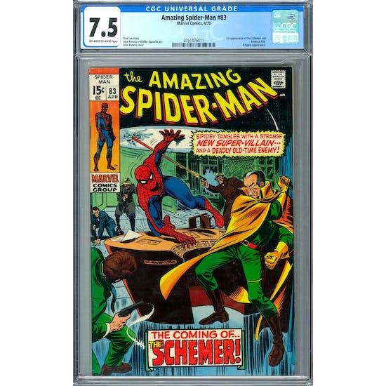 Amazing Spider-Man #83 CGC 7.5 (OW-W) *2051476011*