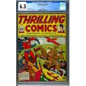 Thrilling Comics #20 CGC 6.5 (C-OW) *2051477003*