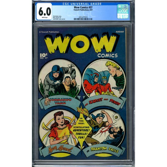 Wow Comics #57 CGC 6.0 (W) *2051477010*