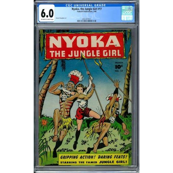 Nyoka, the Jungle Girl #17 CGC 6.0 (OW-W) *2051477011*