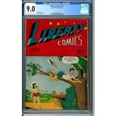 Liberty Comics #11 CGC 9.0 (OW-W) *2051477012*
