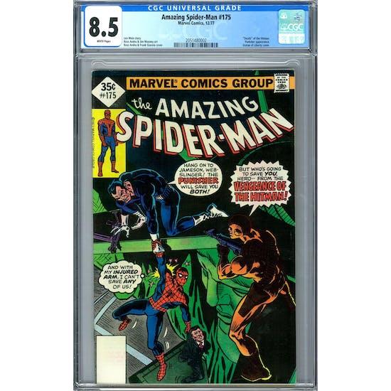 Amazing Spider-Man #175 CGC 8.5 (W) *2051480002*