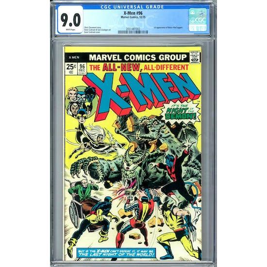 X-Men #96 CGC 9.0 (W) *2051481002*
