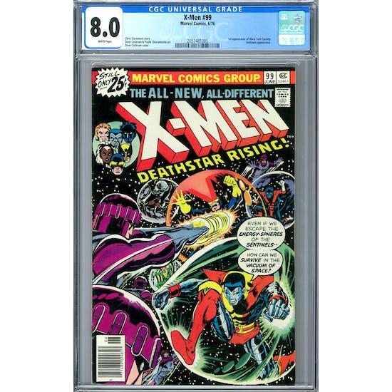 X-Men #99 CGC 8.0 (W) *2051481005*
