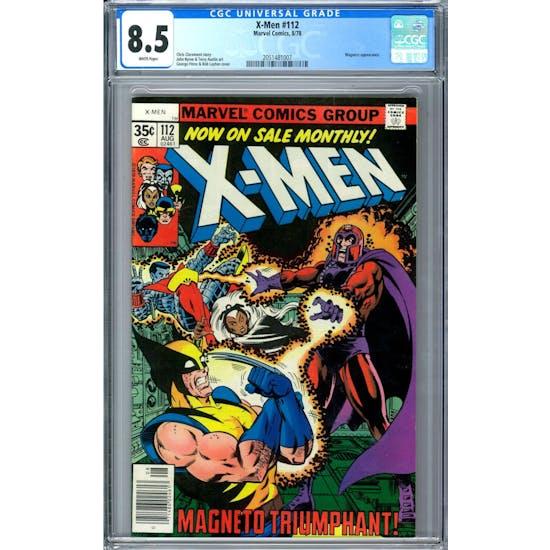 X-Men #112 CGC 8.5 (W) *2051481007*