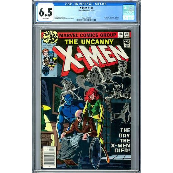 X-Men #114 CGC 6.5 (W) *2051481008*