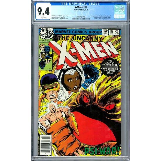 X-Men #117 CGC 9.4 (W) *2051481009*