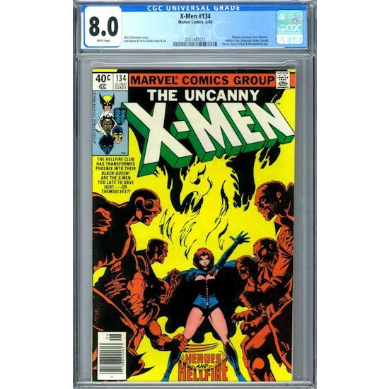 X-Men #134 CGC 8.0 (W) *2051481011*