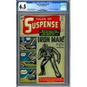 Tales of Suspense #39 CGC 6.5 (C-OW) *2051896001*