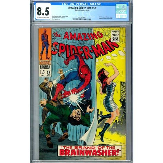 Amazing Spider-Man #59 CGC 8.5 (OW-W) *2051904007*