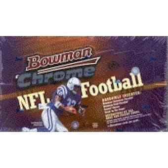 1999 Bowman Chrome Football Hobby Box