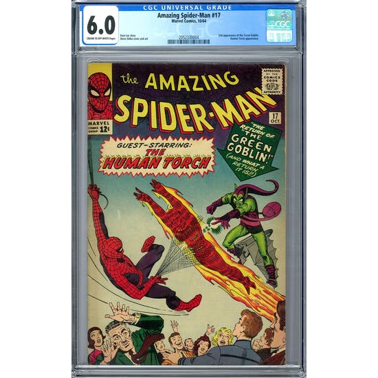 Amazing Spider-Man #17 CGC 6.0 (C-OW) *2052330004*