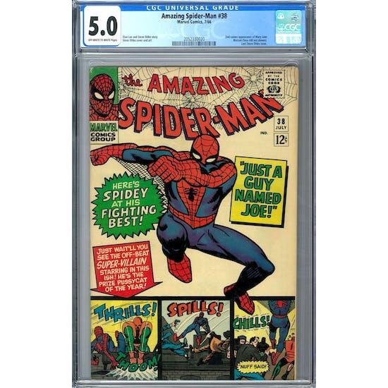 Amazing Spider-Man #38 CGC 5.0 (OW-W) *2052330020*