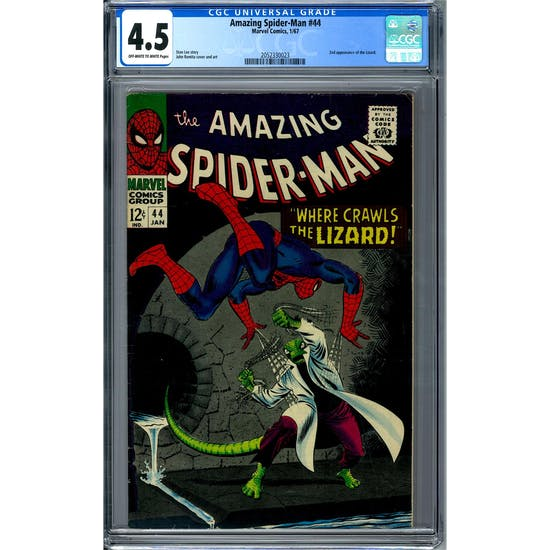 Amazing Spider-Man #44 CGC 4.5 (OW-W) *2052330023*