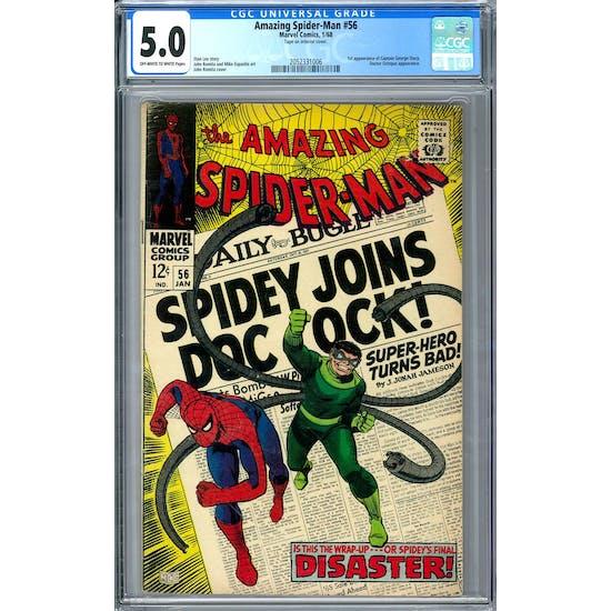 Amazing Spider-Man #56 CGC 5.0 (OW-W) *2052331006*