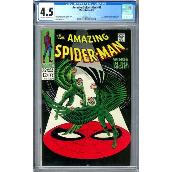 Amazing Spider-Man #63 CGC 4.5 (OW-W) *2052331010*