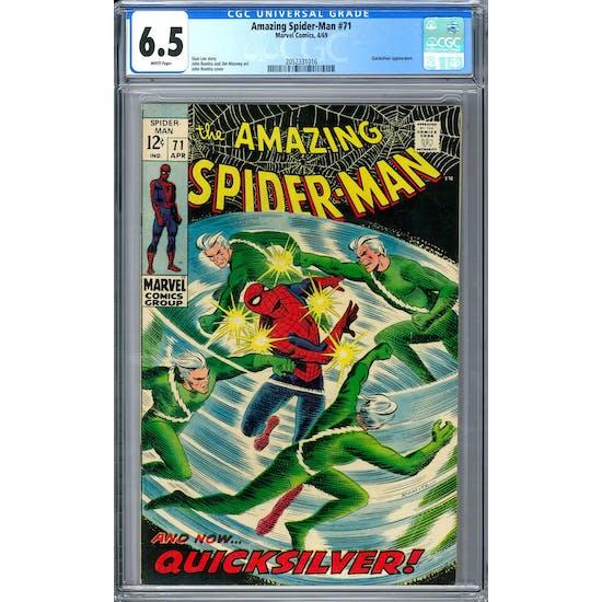 Amazing Spider-Man #71 CGC 6.5 (W) *2052331016*