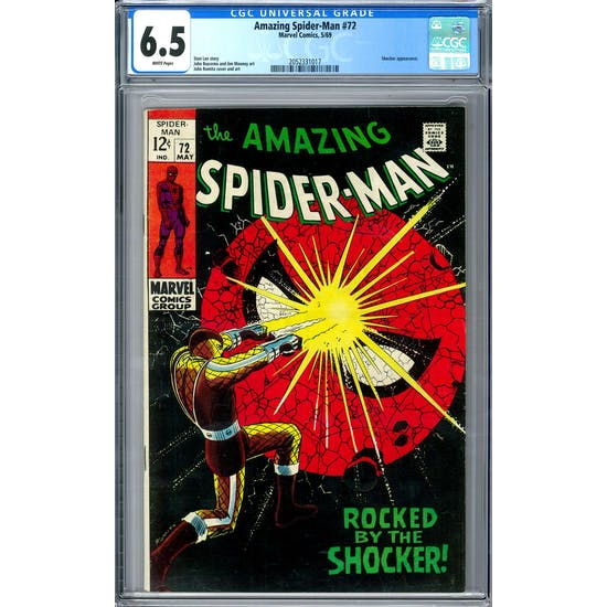 Amazing Spider-Man #72 CGC 6.5 (W) *2052331017*